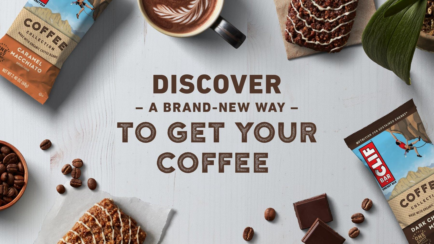 CLIF Bar Coffee Collection: Discover a new way to get your coffee