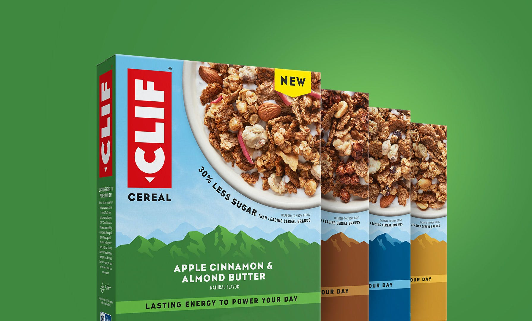 CLIF Cereal 4 new flavors