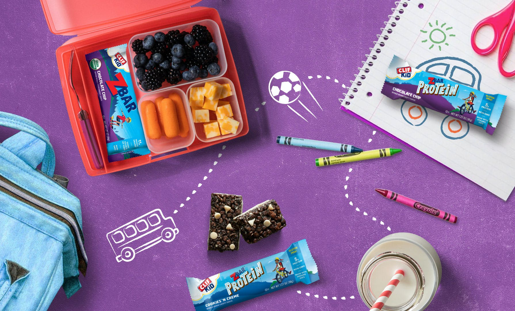 CLIF Kid Back To School Lunchbox