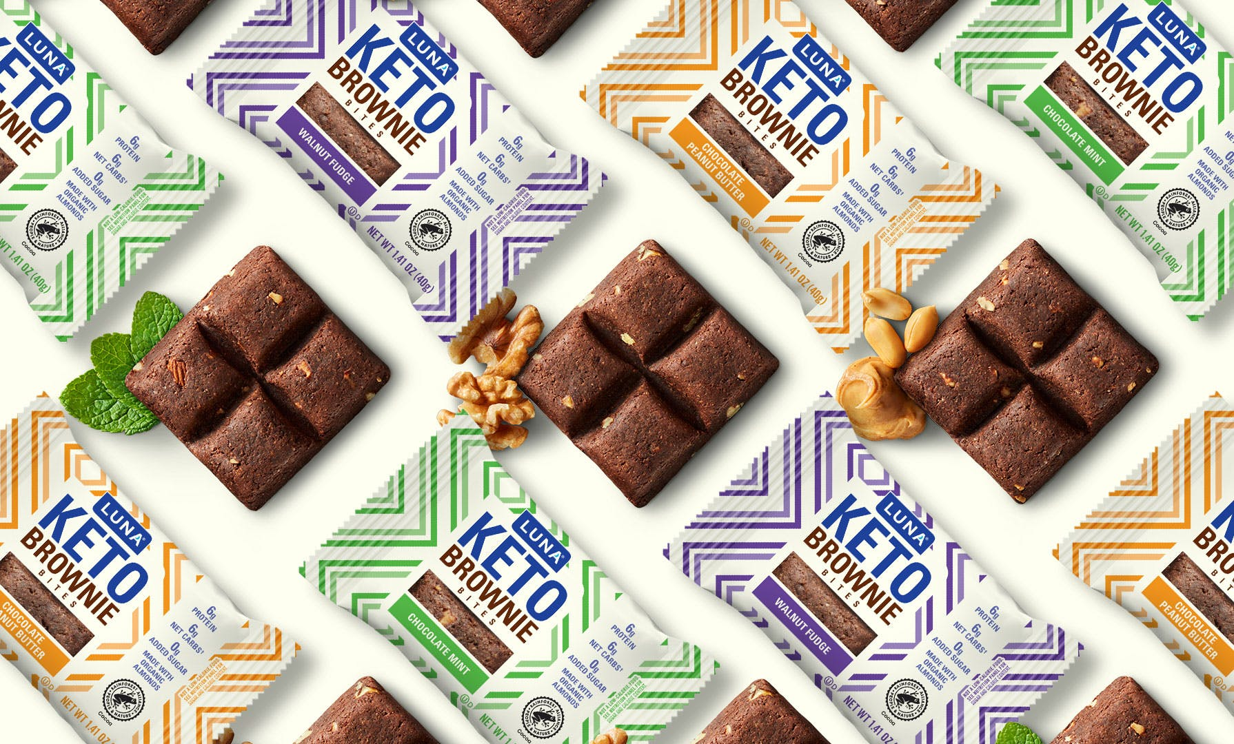 LUNA Keto Brownie Bites Flavors