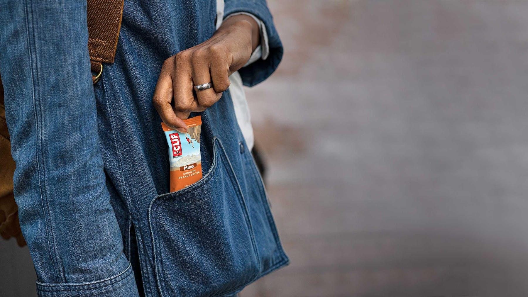 Hand pocket clif minis