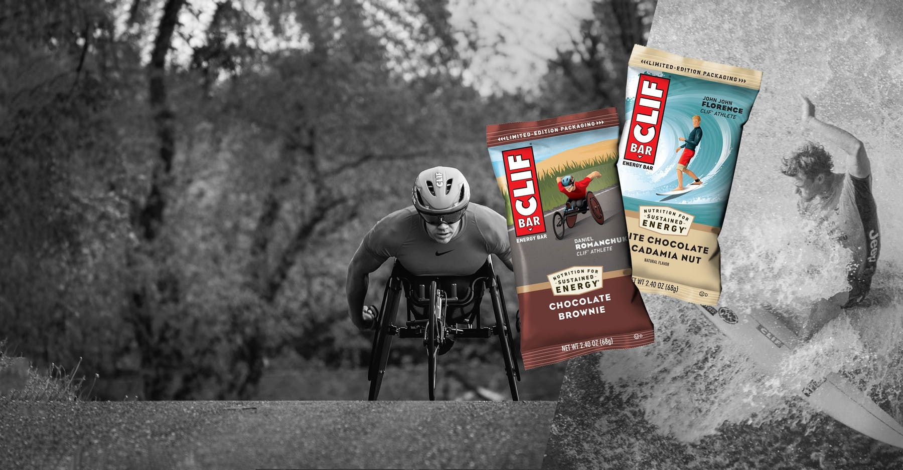 Clif athlete packaging
