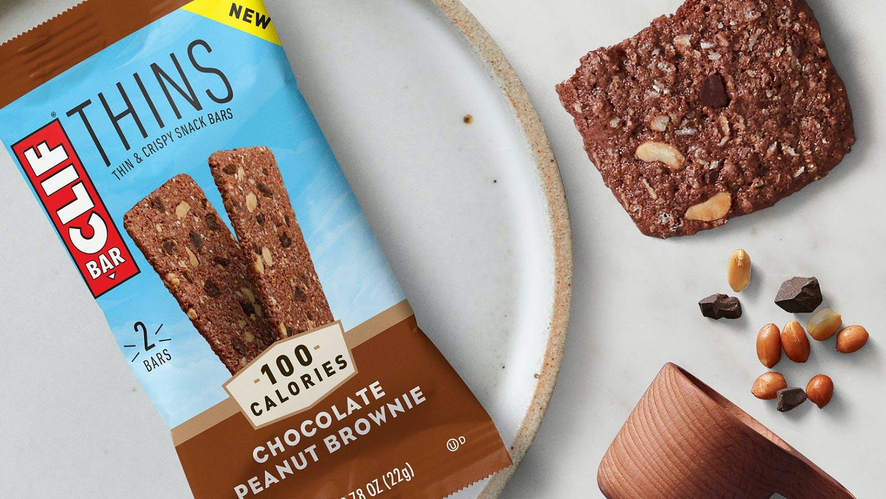 CLIF Thins Chocolate Peanut Brownie
