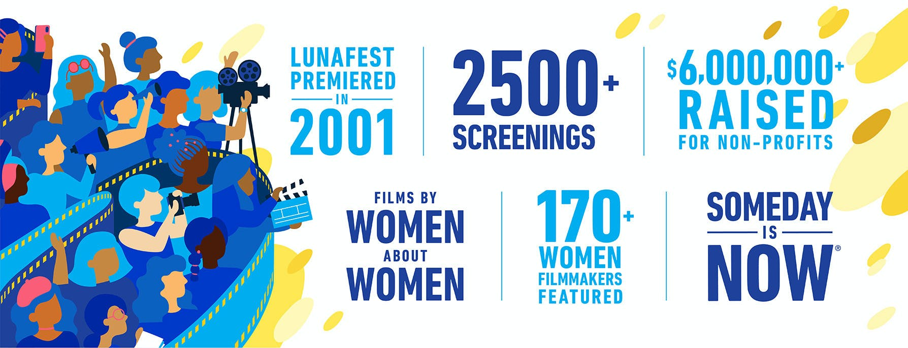 LUNAFEST infograph women in film over 20 years