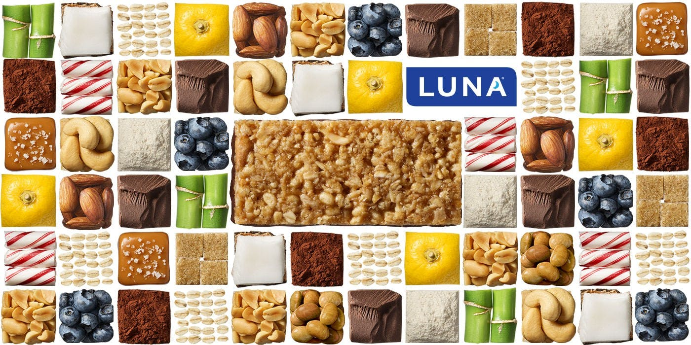 LUNA Bar Ingredients