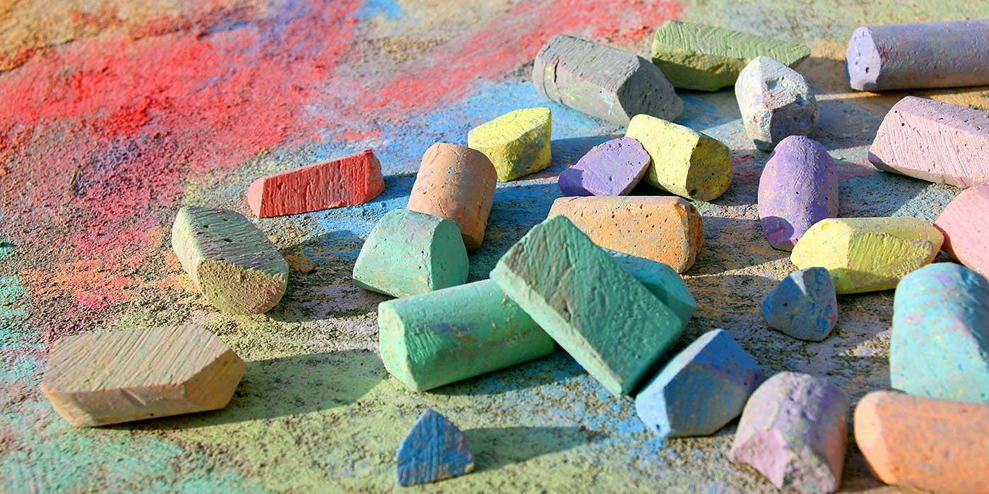 Chalk in all colors