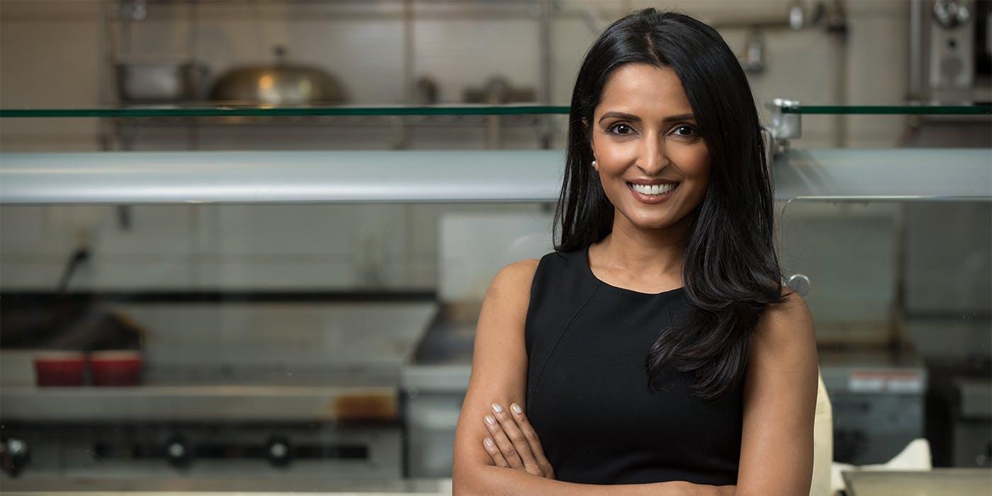 Palak Patel poses in Kali Kitchen
