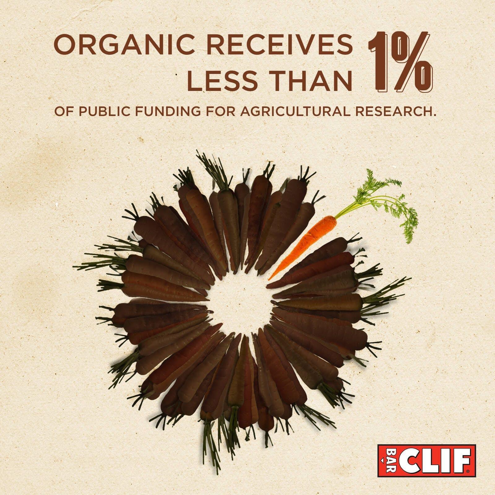 Seed piechart organic