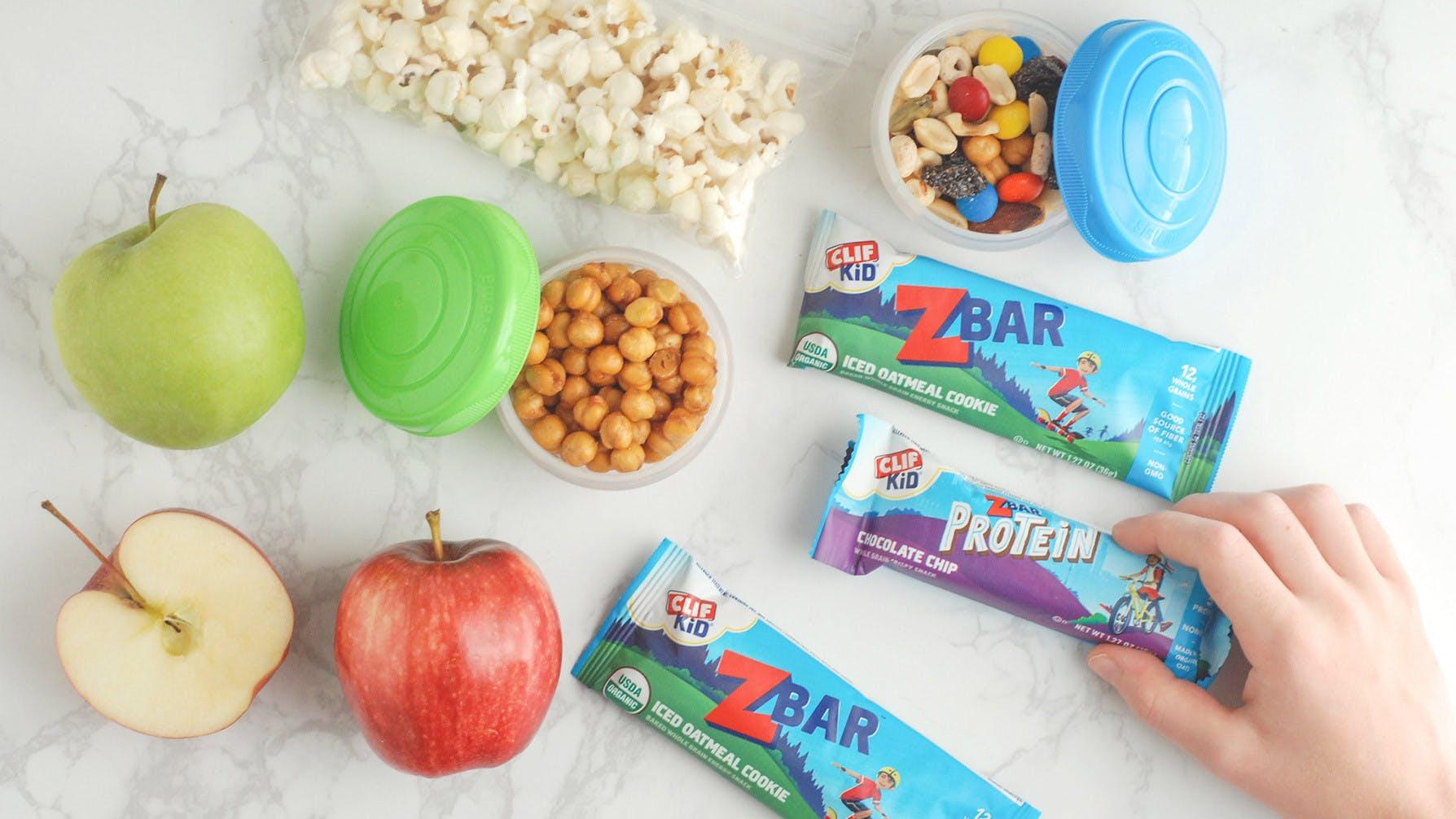 Self-Serve Snack Station with Zbars